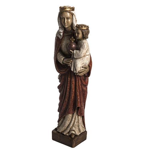 Madonna Regina 50 cm pietra Bethléem 3