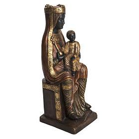 Madonna of Solsona in golden stone, Bethléem 54cm s2