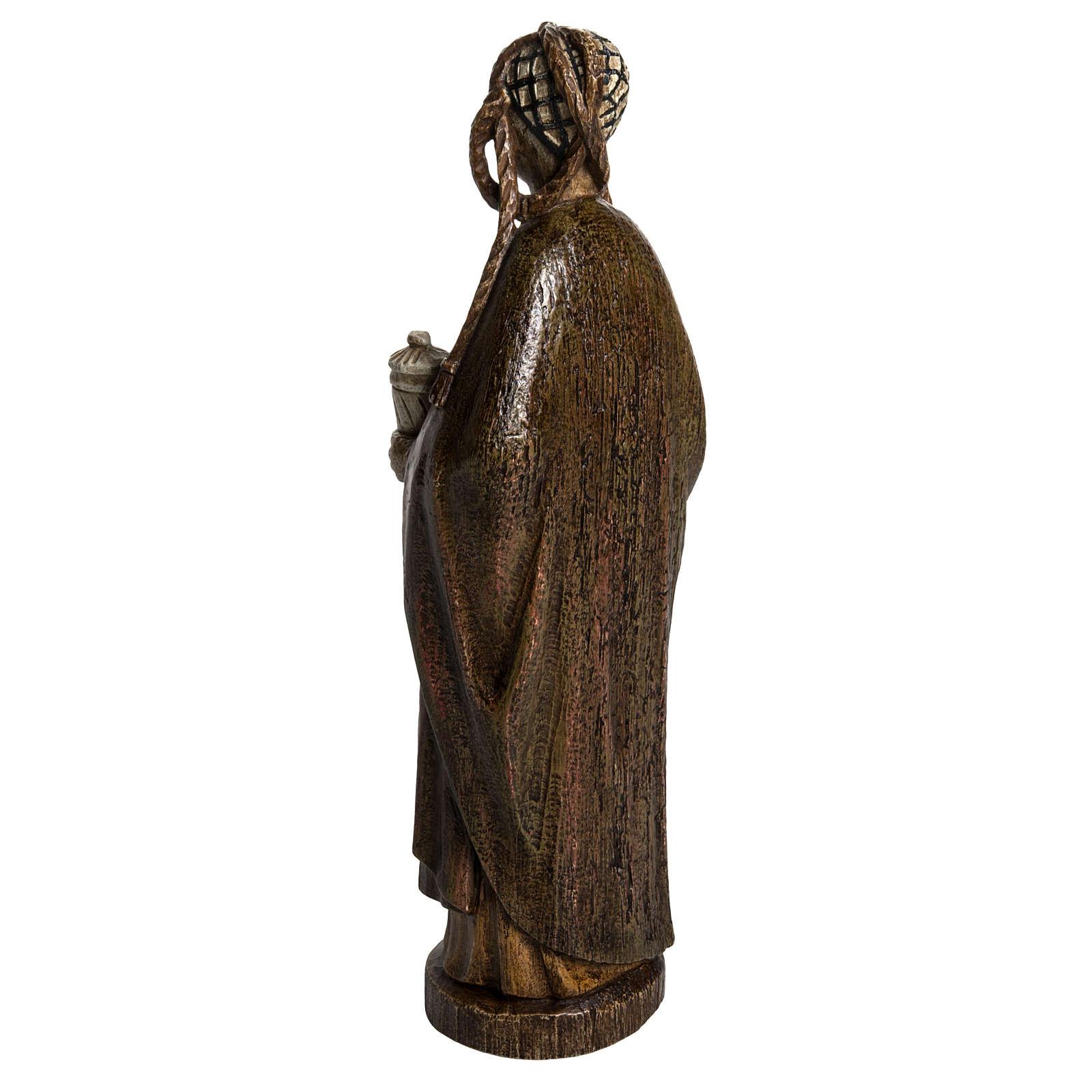 Saint Mary Magdalene in stone, Bethléem 40cm 4