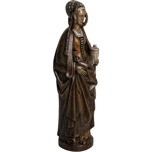 Saint Mary Magdalene in stone, Bethléem 40cm 2