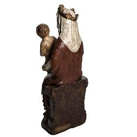 Vierge du XVII siècle 30 cm pierre Bethléem s4
