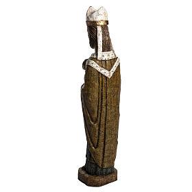 Saint Évêque 51 cm pierre Bethléem s4