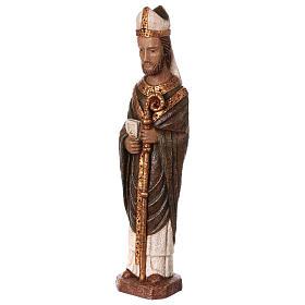 San Vescovo (Évêque) 51 cm pietra Bethléem s3
