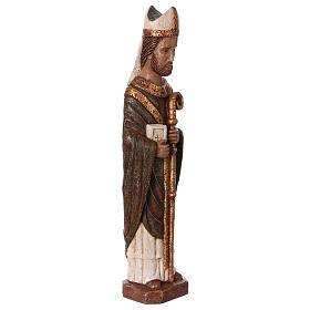 San Vescovo (Évêque) 51 cm pietra Bethléem s4