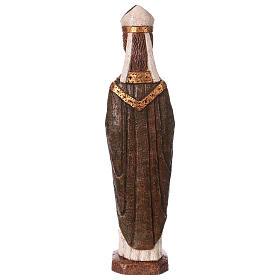 San Vescovo (Évêque) 51 cm pietra Bethléem s5