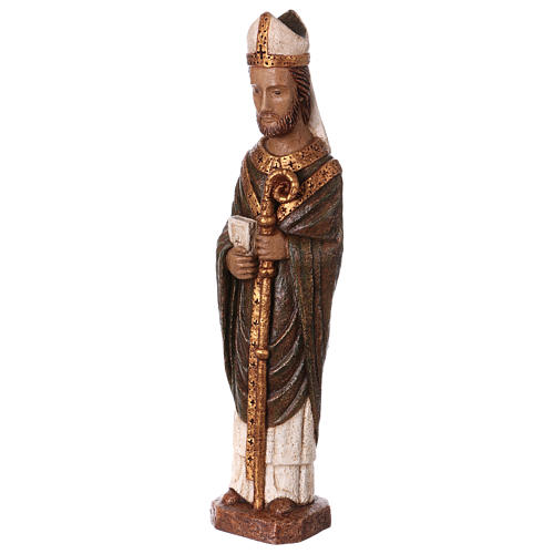San Vescovo (Évêque) 51 cm pietra Bethléem 3