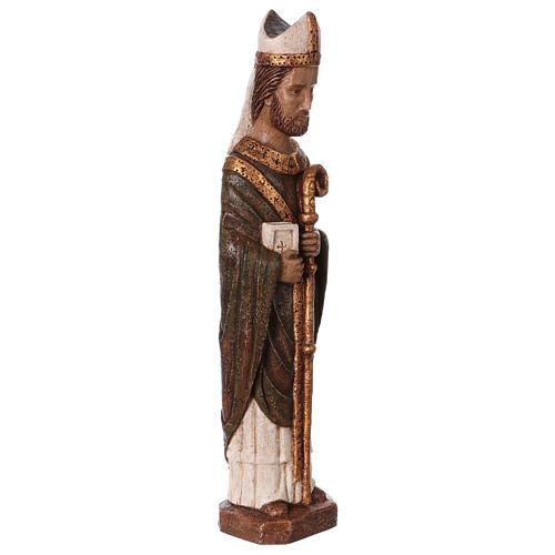 San Vescovo (Évêque) 51 cm pietra Bethléem 4