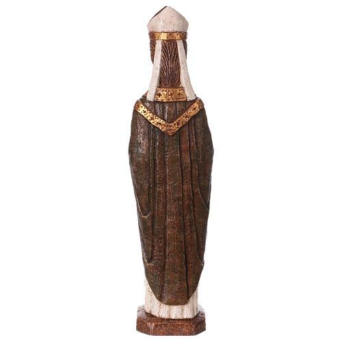 San Vescovo (Évêque) 51 cm pietra Bethléem 5