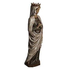 Our Lady of Annunciation in Pyrenees stone, Bethléem 48cm s2