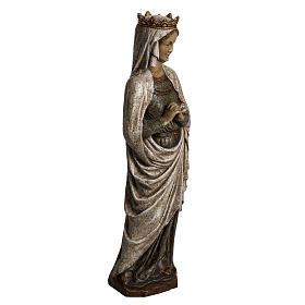 Virgen de la Anunciación 48cm de piedra Bethléem s2