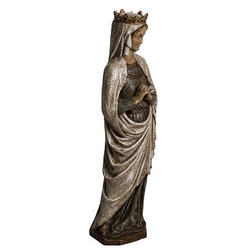 Madonna dell'Annunciazione 48 cm pietra dei Pirenei 2