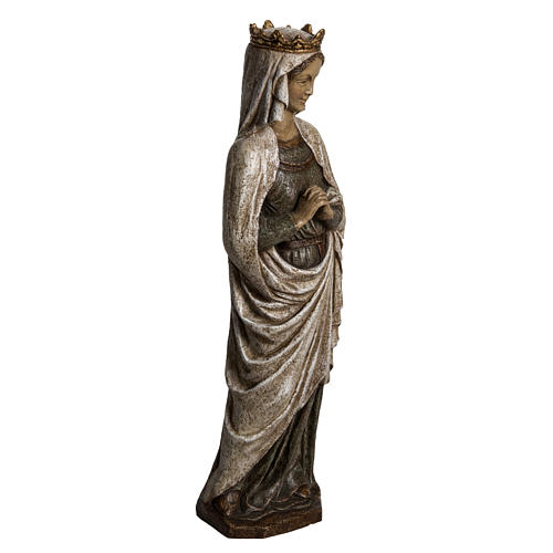 Our Lady of Annunciation in Pyrenees stone, Bethléem 48cm 2