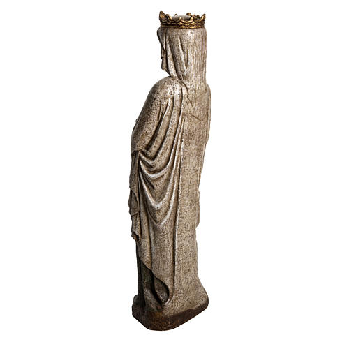Our Lady of Annunciation in Pyrenees stone, Bethléem 48cm 4