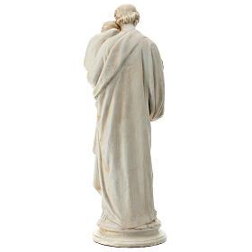 San Giuseppe con bambino 61 cm pietra dei Pirenei s6