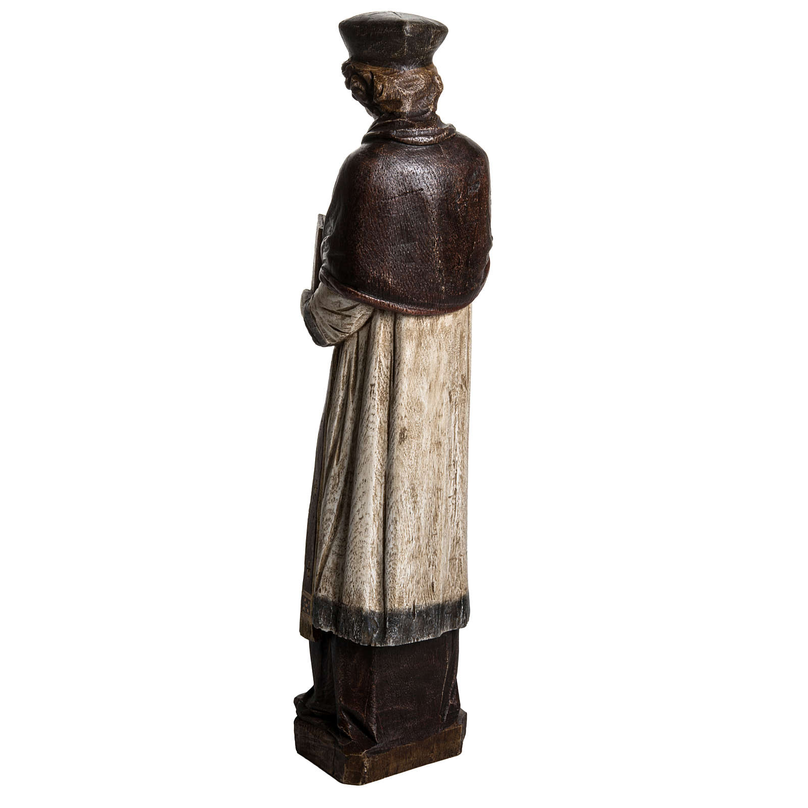 St. Yves (Ivo) pietra finitura legno 63 cm 4
