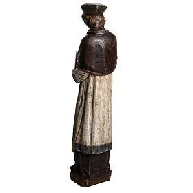 St. Yves (Ivo) pietra finitura legno 63 cm s4