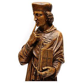 St. Yves (Ivo) pietra finitura legno 63 cm s2