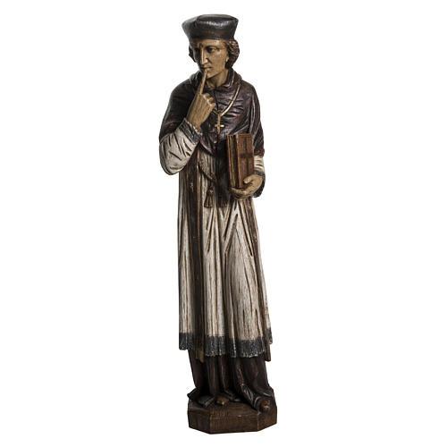 St. Yves (Ivo) pietra finitura legno 63 cm 1