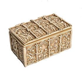 Coffret: reliquiario in pietra color avorio Bethléem s1