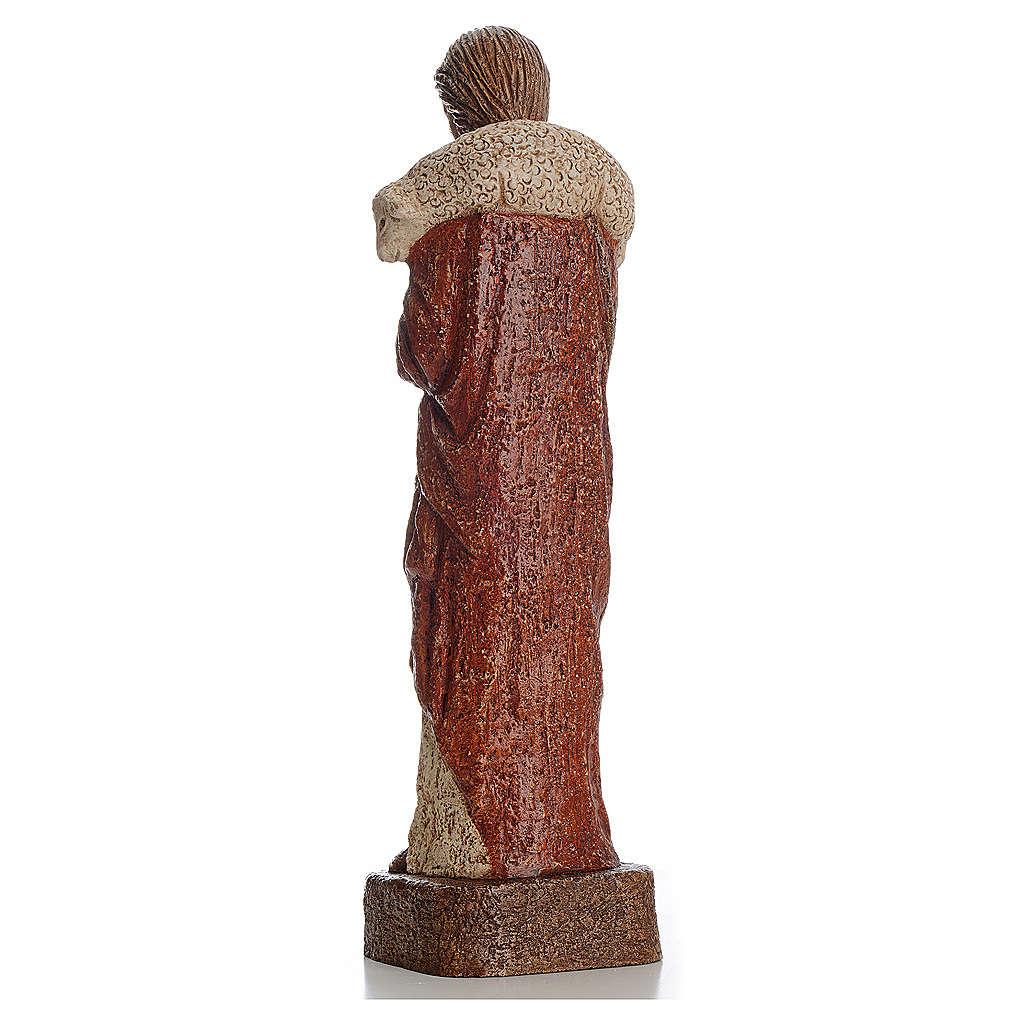 Good shepherd stone statue 39 cm, Bethlehem Nuns 4