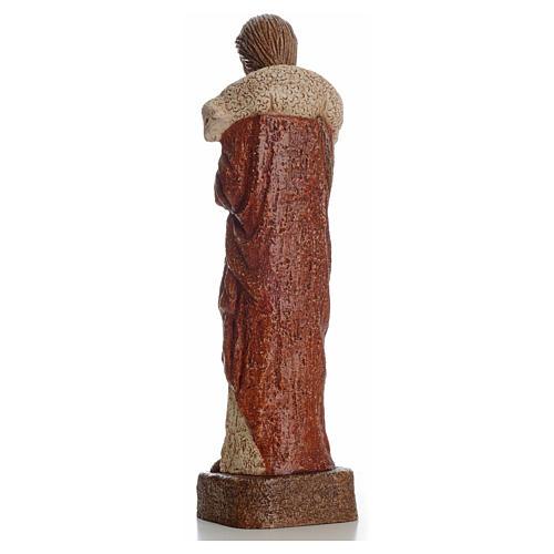 Good shepherd stone statue 39 cm, Bethlehem Nuns 7