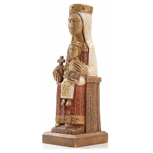 Nostra Signora del Pilar 25 cm pietra colorata Bethléem 2
