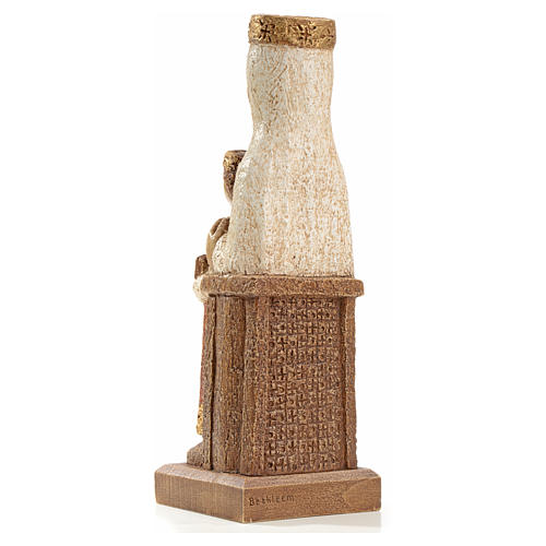 Nostra Signora del Pilar 25 cm pietra colorata Bethléem 3