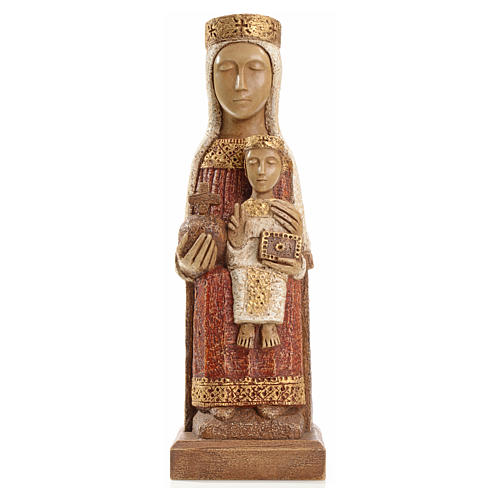 Our Lady of the Pillar stone statue 25 cm, Bethlehem Nuns 1