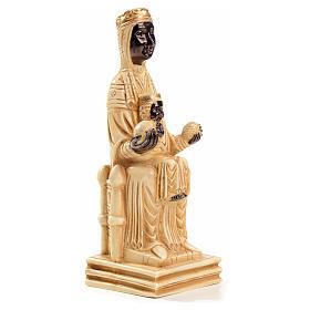 Our Lady of Montserrat stone statue 16 cm, Bethlehem Nuns s4