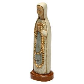 Madonna z Lourdes 15 cm kamień biały Bethleem s2