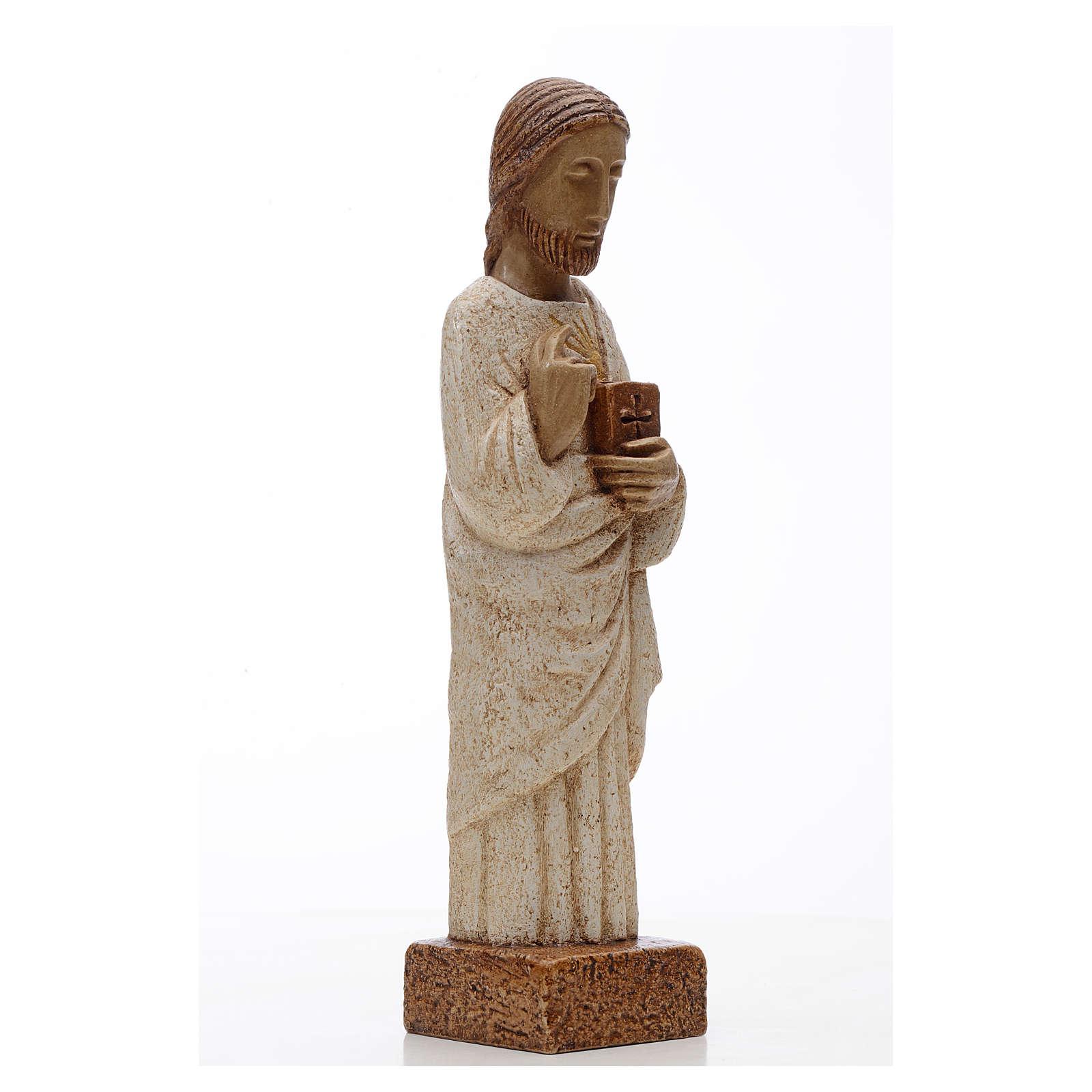 Najświętsze Serce Maryi kamień Bethleem 26 cm 4