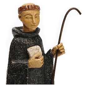 San Benedetto 24 cm pietra Bethléem s2