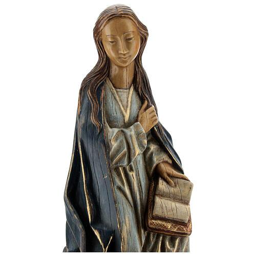 Annunciazione 29 cm pietra dei Pirenei Monastero Bethléem 2