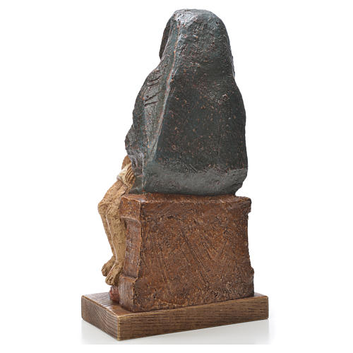 Pietà di Tarantasia Bethléem 21 cm pietra 3