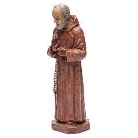 Saint Pio 37,5 cm pierre Monastère Bethléem s2