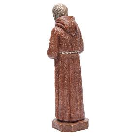Saint Pio 37,5 cm pierre Monastère Bethléem s3