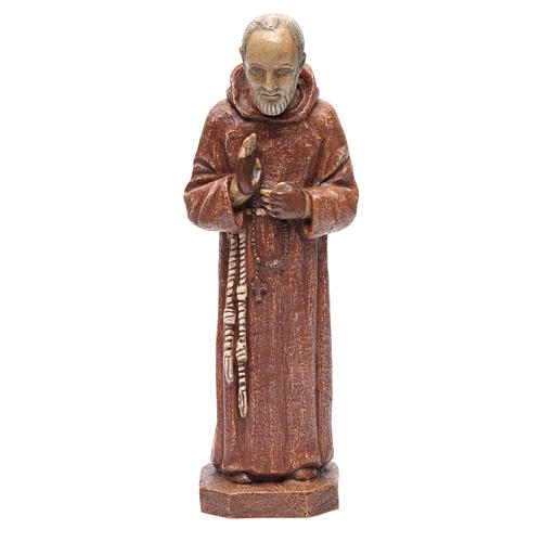 Saint Pio 37,5 cm pierre Monastère Bethléem 1