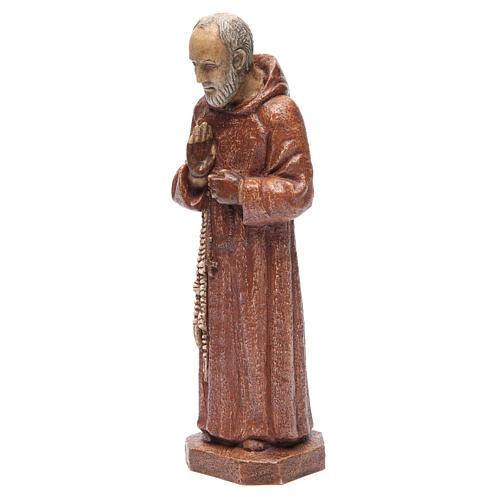 Saint Pio 37,5 cm pierre Monastère Bethléem 2