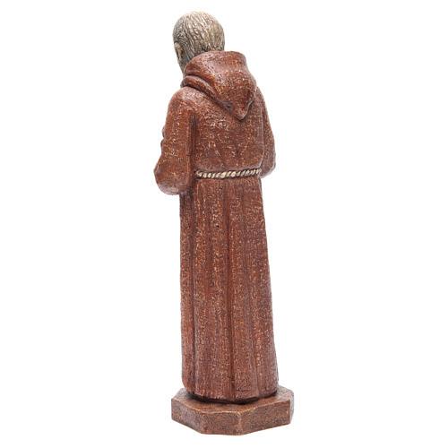Saint Pio 37,5 cm pierre Monastère Bethléem 3