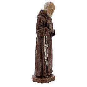 Padre Pio 37,5 cm pietra Monastero Bethléem s4