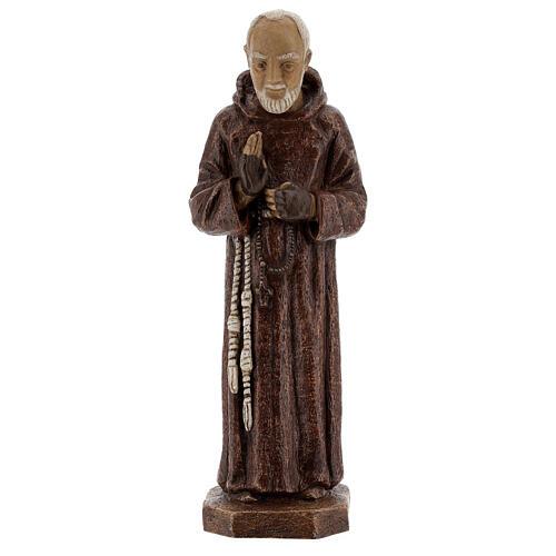 Padre Pio 37,5 cm pietra Monastero Bethléem 1