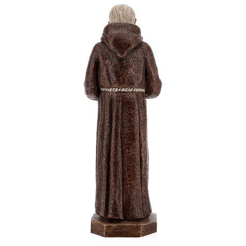 Padre Pio 37,5 cm pietra Monastero Bethléem 5