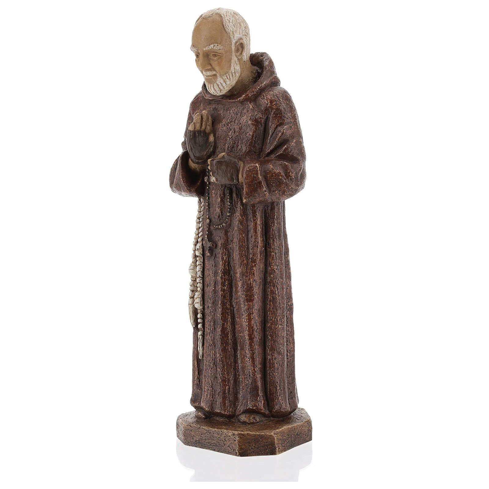 Ojciec Pio 37.5 cm kamień Klasztor Bethleem 4
