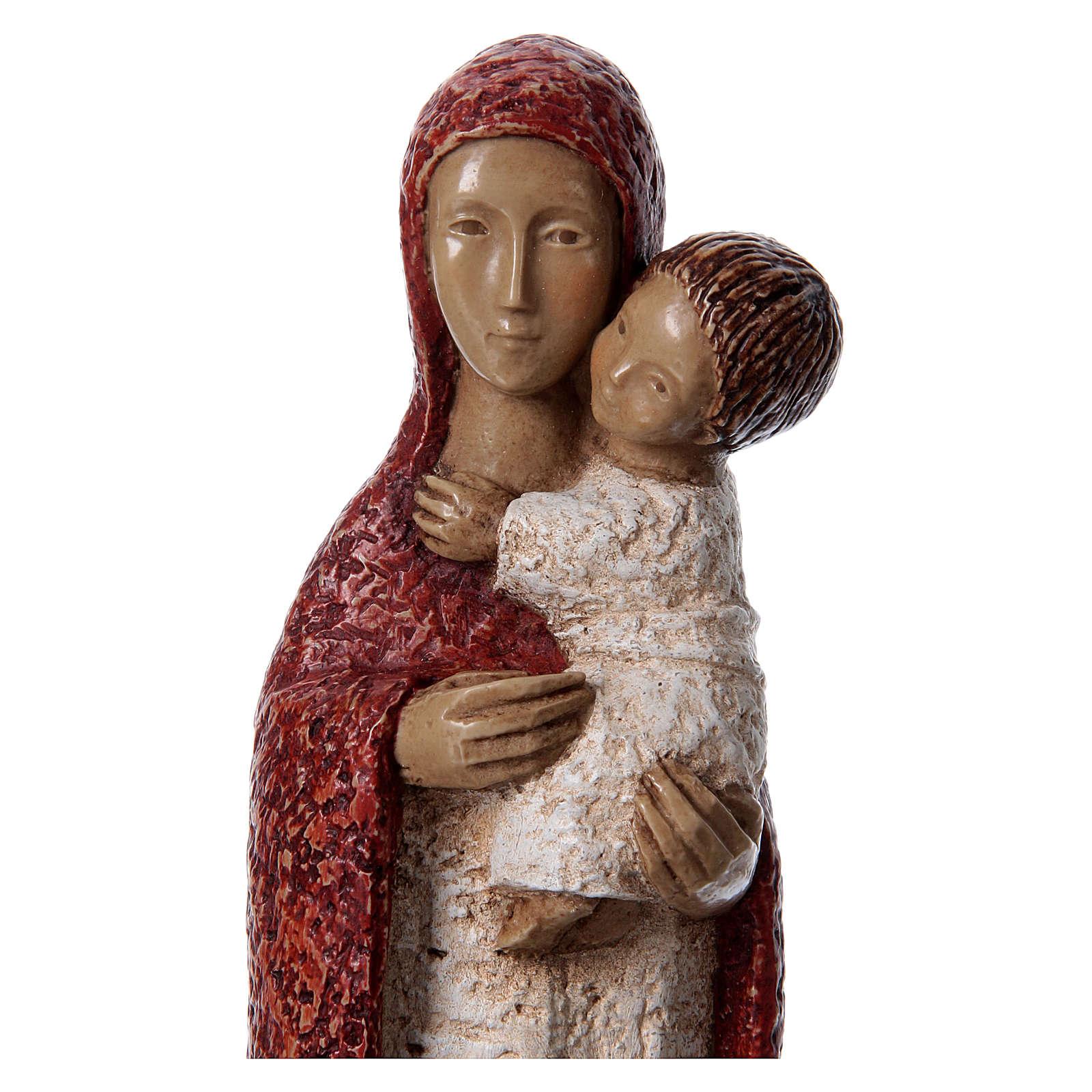 Statua in pietra Vergine Eleousa 20 cm 4