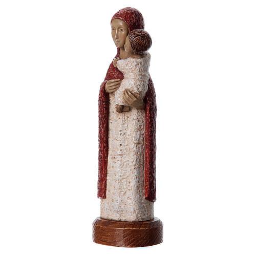 Statua in pietra Vergine Eleousa 20 cm 3