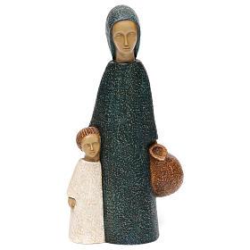 Figury z kamienia: Dziewica w Nazaret Bethleem kamień pirenejski