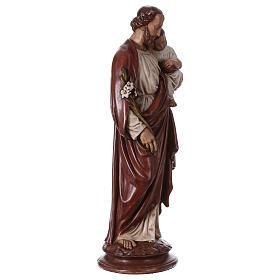 St Joseph with Child 61 cm, Bethléem nuns s4