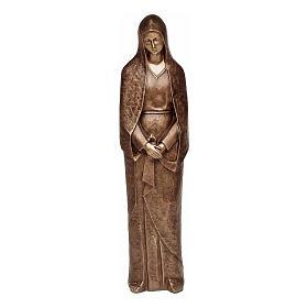 Statua Maria addolorata bronzo 105 cm per ESTERNO s1