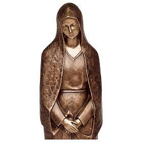 Statua Maria addolorata bronzo 105 cm per ESTERNO s2