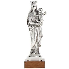 Imágenes de Resina y PVC: Notre Dame de la Garde en color metal 16cm